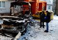Последствия обстрела Кировского района Донецка