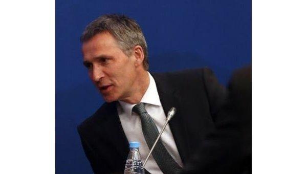 Йенс Столтенберг, генеральный секретарь НАТО. Архивное фото