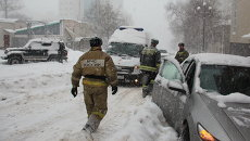 МЧС ликвидирует последствия снежного циклона в Хабаровске