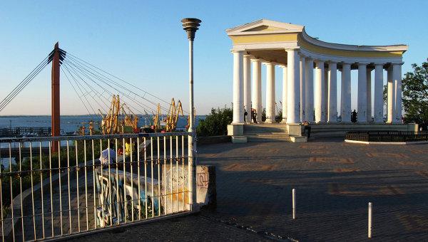 Виды Одессы. Архивное фото