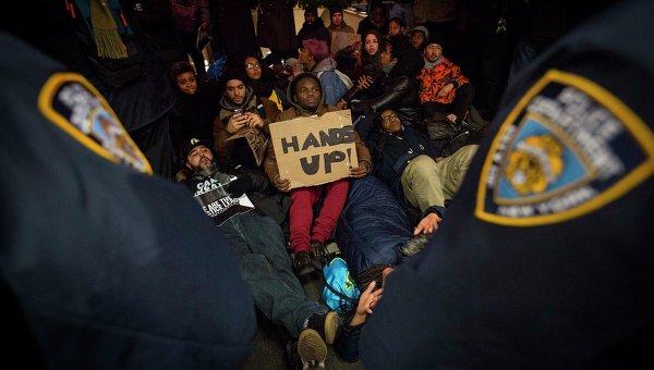 Протесты против жестокости полиции в США