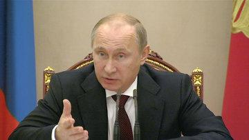 Путин возмутился ростом розничных цен на нефтепродукты в РФ