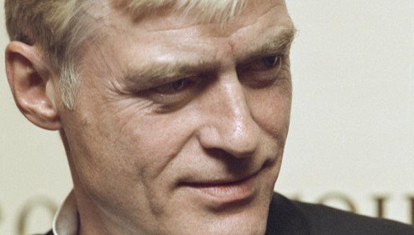Актер театра и кино Борис Щербаков, архивное фото
