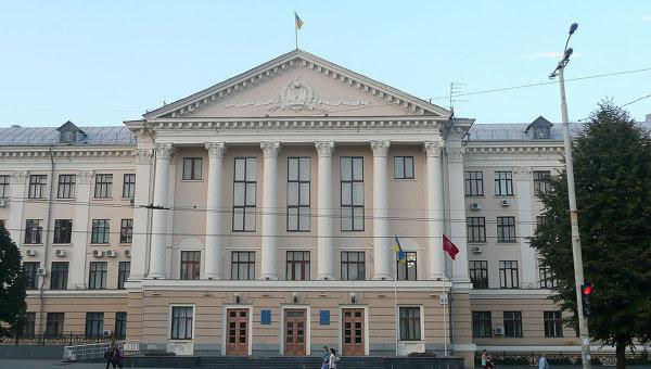 Здание городского совета Запорожья. Архивное фото