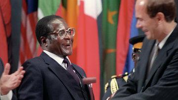 Президент Зимбабве Роберт Мугабе. Архивное фото