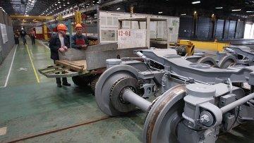 Работа вагоностроительного завода. Архивное фото