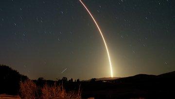 Ракета Atlas V со спутником NROL39 на космодроме Ванденберг в Калифорнии. Архивное фото