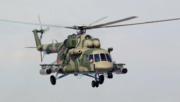 Вертолет Ми-8АМТШ-В. Архивное фото