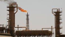 Крупнейший в Ираке нефтеперерабатывающий завод в северном городе Байджи. Архивное фото