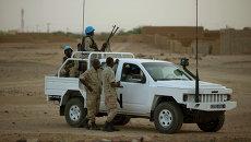 Автомобиль миротворцев ООН в Мали. Архивное фото