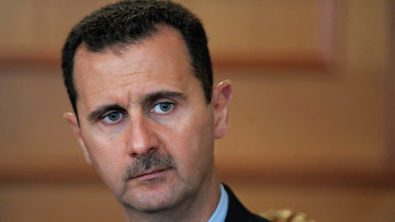 Встреча президентов России и Сирии. Архив