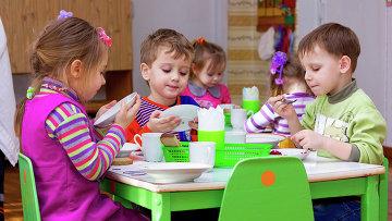 В детском саду. Архивное фото