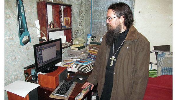 Священник Игорь Ащеулов