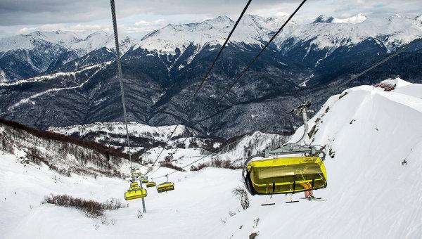Открытие горнолыжного сезона на курорте Роза Хутор