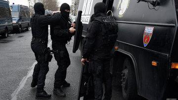 Французский полицейский спецназ (BRI). Архивное фото