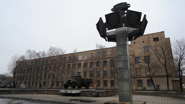 Здание Завода имени И. А. Лихачева. Архивное фото