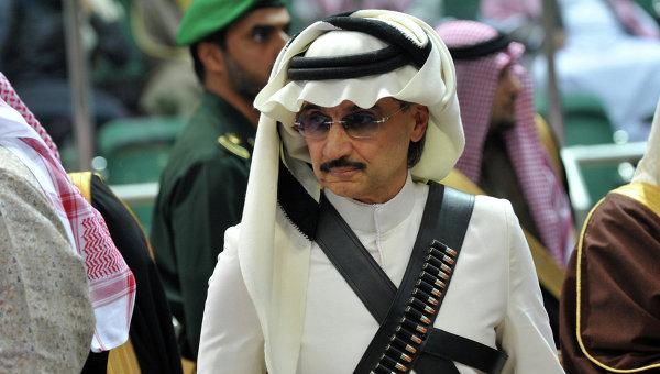 Принц Саудовской Аравии Аль-Валид ибн Талал. Архивное фото