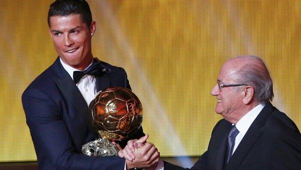 Церемония вручения премии Золотой мяч в Цюрихе