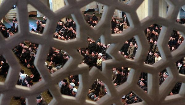 Мусульманский праздник Курбан-Байрам в Грозном