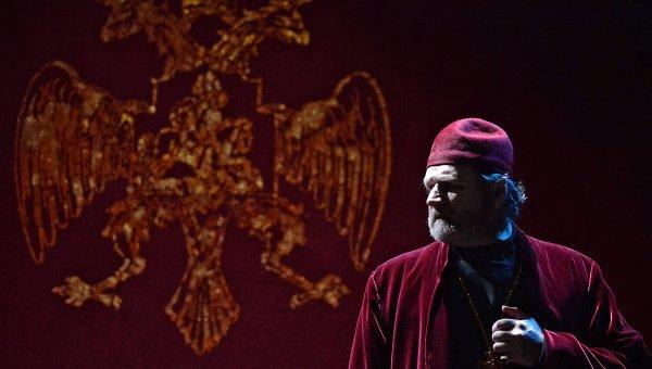 Показ спектакля Борис Годунов в театре Et Cetera. Архивное фото