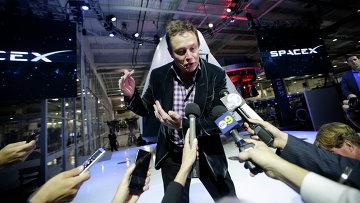 Илон Маск, генеральный директор и главный технический директор SpaceX. Архивное фото.