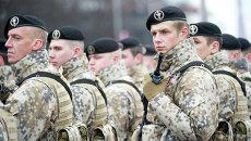 Солдаты латвийской армии. Архивное фото