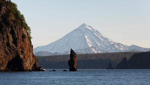 Вид на Вилючинский вулкан. Архивное фото