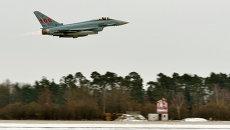 Самолет Eurofighter Typhoon. Архивное фото