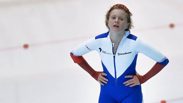 Российская конькобежка Наталья Воронина. Архивное фото