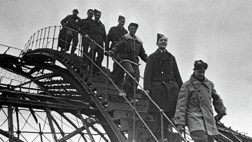 Участники Ялтинской конференции глав правительств трех союзных стран. Архивное фото