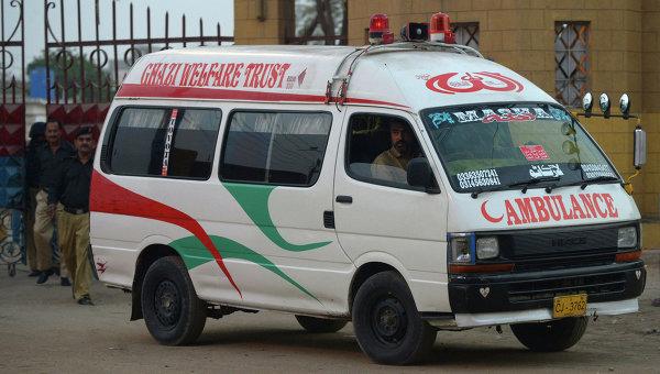 Скорая помощь в Пакистане. Архивное фото
