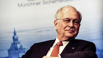 Председатель Мюнхенской конференции по безопасности Вольфганг Ишингер. Архивное фото
