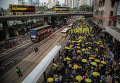 Марш Фронта гражданских прав человека в Гонконге