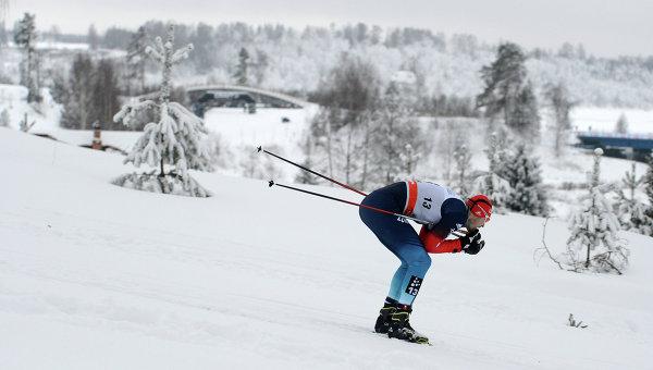 Лыжная гонка. Архивное фото.