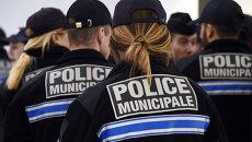 Сотрудники полиции Марселя, Франция. Архивное фото