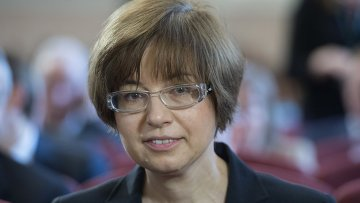 Первый заместитель председателя Центрального Банка РФ Ксения Юдаева. Архивное фото.