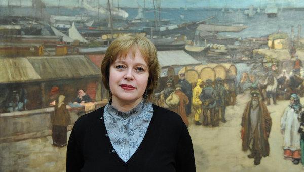 Директор Государственной Третьяковской галереи Ирина Лебедева