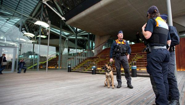 Полиция в Антверпене, Бельгия. Архивное фото