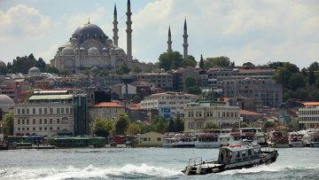 Вид на Стамбул. Архивное фото