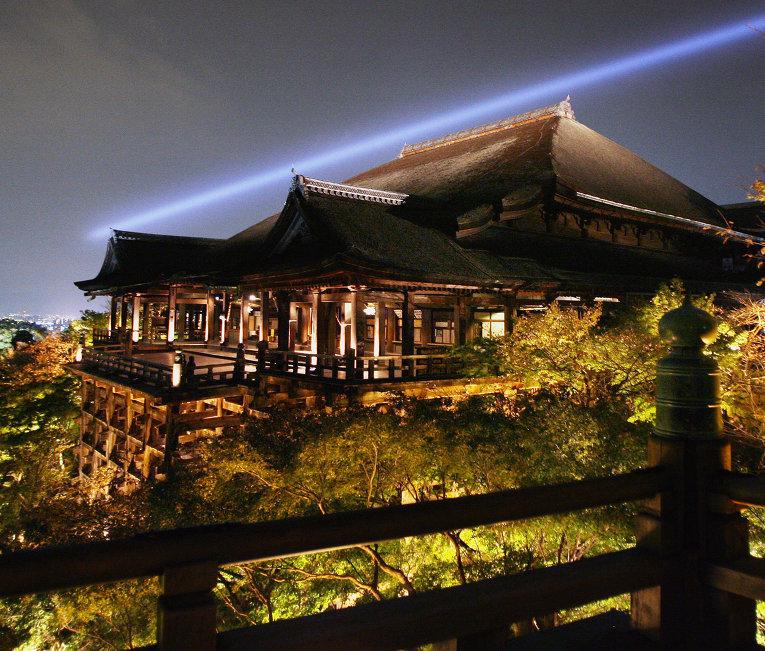 Храм в городе Киото