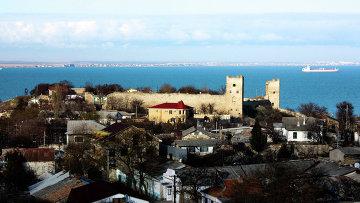 Вид на город Феодосия