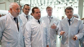 Рабочая поездка премьер-министра РФ Д.Медведева в Приволжский федеральный округ