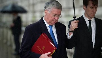 Министр обороны Великобритании Майкл Фэллон. Архивное фото.