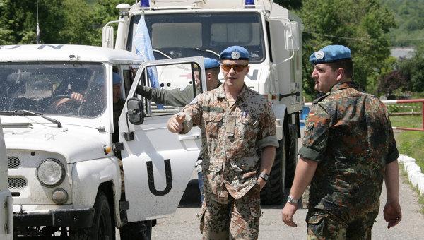 Военные наблюдатели ООН. Архивное фото