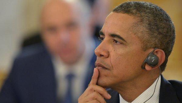 Президент Соединенных Штатов Америки (США) Барак Обама. Архивное фото