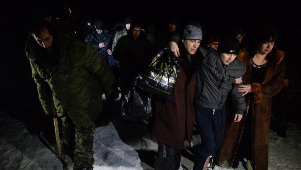 Обмен пленными между военными ДНР, ЛНР и украинскими силовикам. Архивное фото