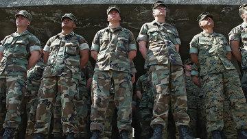 Американские инструкторы, обучавшие грузинских военнослужащих