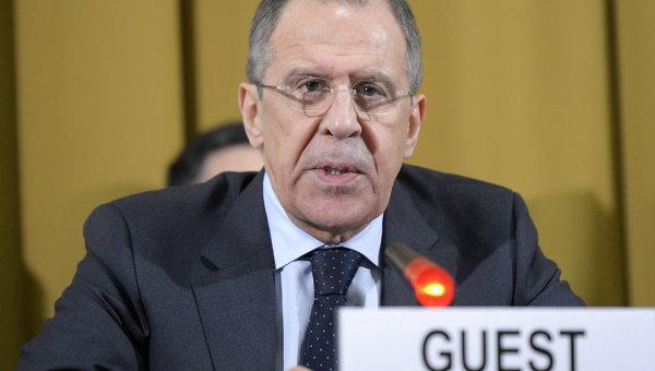 Визит главы МИД РФ С.Лаврова в Женеву