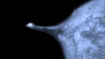 Последние мгновения жизни белого карлика, катапультировавшего звезду  US 708 из Галактики