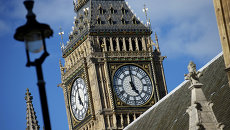 Крыша Вестминстерского дворца в Лондоне, Архивное фото